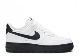 nike air force 1 black and white